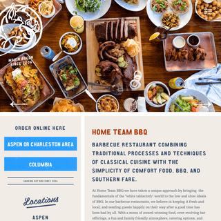Barbecue Restaurant - Home Team BBQ
