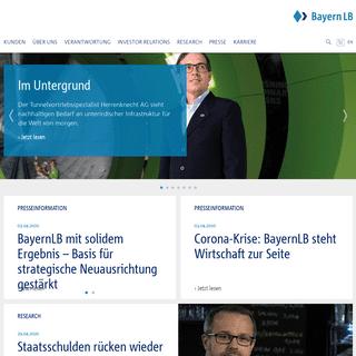 A complete backup of bayernlb.de