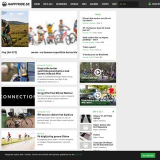 Happyride.se – Sveriges största cykel och mountainbikesite
