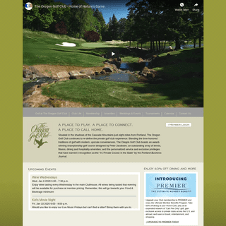Golf Courses in West Linn - The Oregon Golf Club