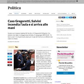 Caso Gregoretti, Salvini incendia l'aula e si arriva alle mani - la Repubblica