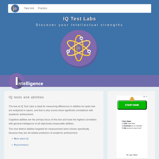 ArchiveBay.com - intelligencetest.com - IQ Test Labs - Discover your intellectual strengths