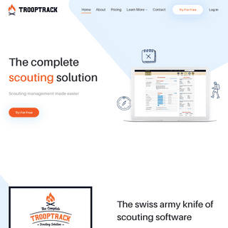 TroopTrack - The Complete Scouting Software Solution