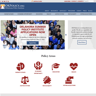 Oklahoma Policy Institute - Oklahoma Policy Institute
