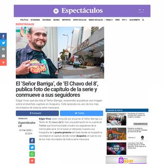 El chavo en Acapulco - Chespirito- Señor Barriga recuerda episodio y puerta giratoria en Twitter - Edgar Vivar - Fotos - Video