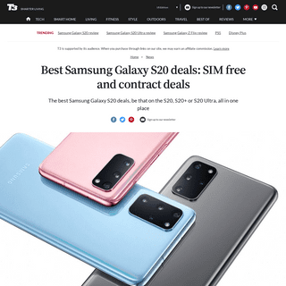 Best Samsung Galaxy S20 deals- SIM free and contract deals - T3