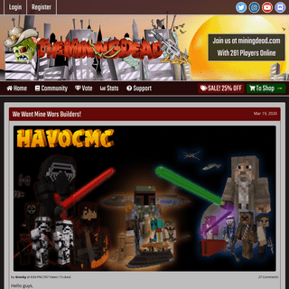 HavocMC - Minecraft Server Network