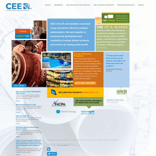 CEE—Consortium for Energy Efficiency