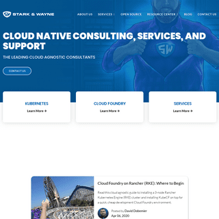 Stark & Wayne - Cloud Native Consulting, Services, And Support