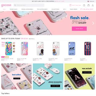 Custom iPhone Cases and Accessories - Samsung Cases - Gocase