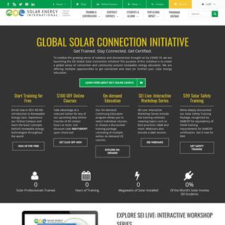Get Connected - Solar Training - Solar Installer Training - Solar PV Installation Training - Solar Energy Courses - Renewable En