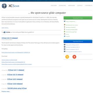 XCSoar - ... the open-source glide computer