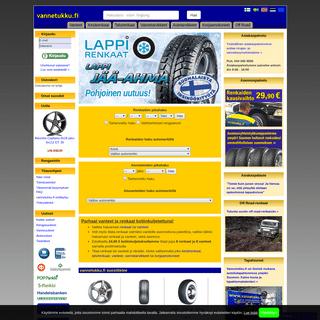 Vanteet, renkaat ja autotarvikkeet edullisesti - vannetukku.fi verkkokauppa