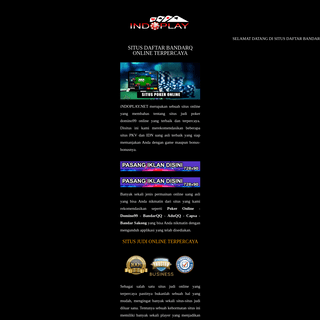 Situs Daftar BandarQ Online Terpercaya
