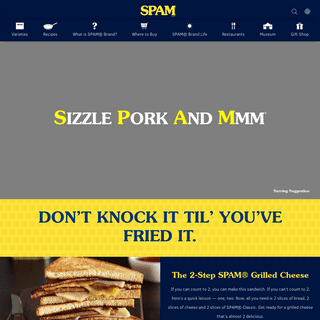 SPAM® Brand - Versatile Canned Meat Products and Recipes