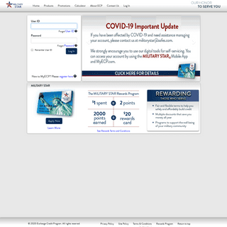 MyECP - ECP Home Page