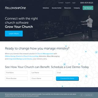 Church Management Software by FellowshipOne