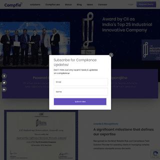 Compfie - Powered by India's No 1 Compliance Company Aparajitha