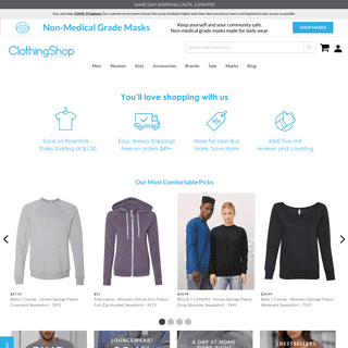Blank Wholesale Apparel For Discount Prices - Clothing Shop Online