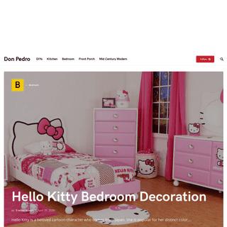 Don Pedro - Home Decor and Interior Design Ideas
