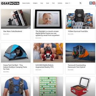 GearNova - Cool Stuff for Cool People- Gear, Gadgets, Geek, Tech