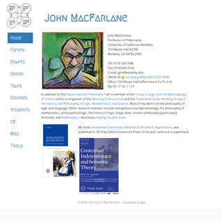 John MacFarlane - Home