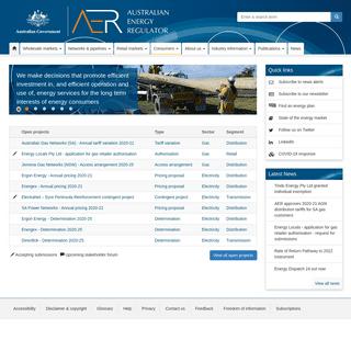 Australian Energy Regulator - AER