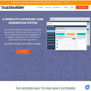 BuzzBuilder- Outbound Lead Generation