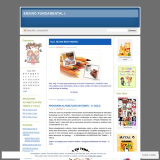 ENSINO FUNDAMENTAL I - Este blog foi criado pelas professoras do Ensino fundamental I ( CENFOP) e tem como objetivo trocar infor