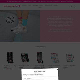 LittleMissMatched - Girls' Fun & Unique Socks & Accessories – Little Miss Matched