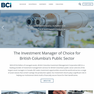 BCI - British Columbia Investment Management Corporation
