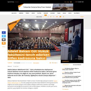 ArchiveBay.com - tr.sputniknews.com/turkiye/202002131041394322-adalet-bakani-gul-hukuk-fakultesini-tercih-ederken-lutfen-kadrosuna-bakin/ - Adalet Bakanı Gül- Hukuk fakültesini tercih ederken lütfen kadrosuna bakın - Sputnik Türkiye