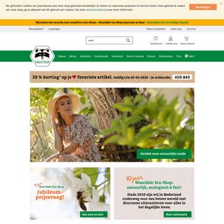 Ecoshop voor duurzame mode en biologische producten - Waschbär Eco-Shop