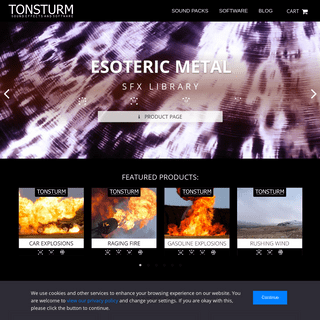 Sound Effects and Software by Tonsturm