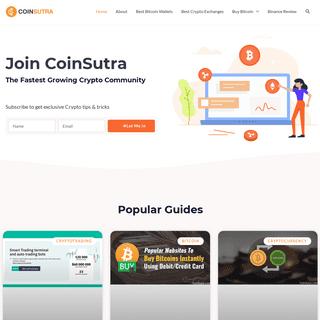 CoinSutra- Bitcoin Tips, Tutorials & Community