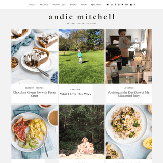 Andie Mitchell - Healthy recipes and inspiration for a balanced, feel-good life