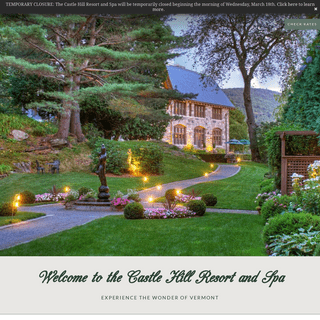 The Castle and Resort Homes - Castle Hill - Resorts In Vermont