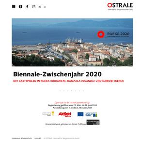 OSTRALE Biennale für zeitgenössische Kunst - 019