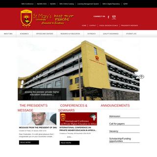 Home - st. Mary's University
