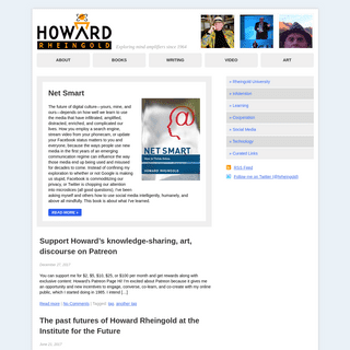 Howard Rheingold - Exploring mind amplifiers since 1964