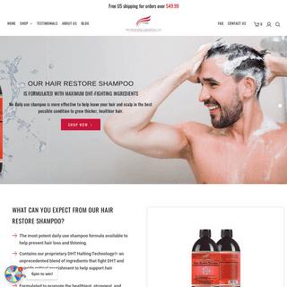 The Most Effective Hair Growth Shampoos & Conditioner – Hair Restoration Laboratories