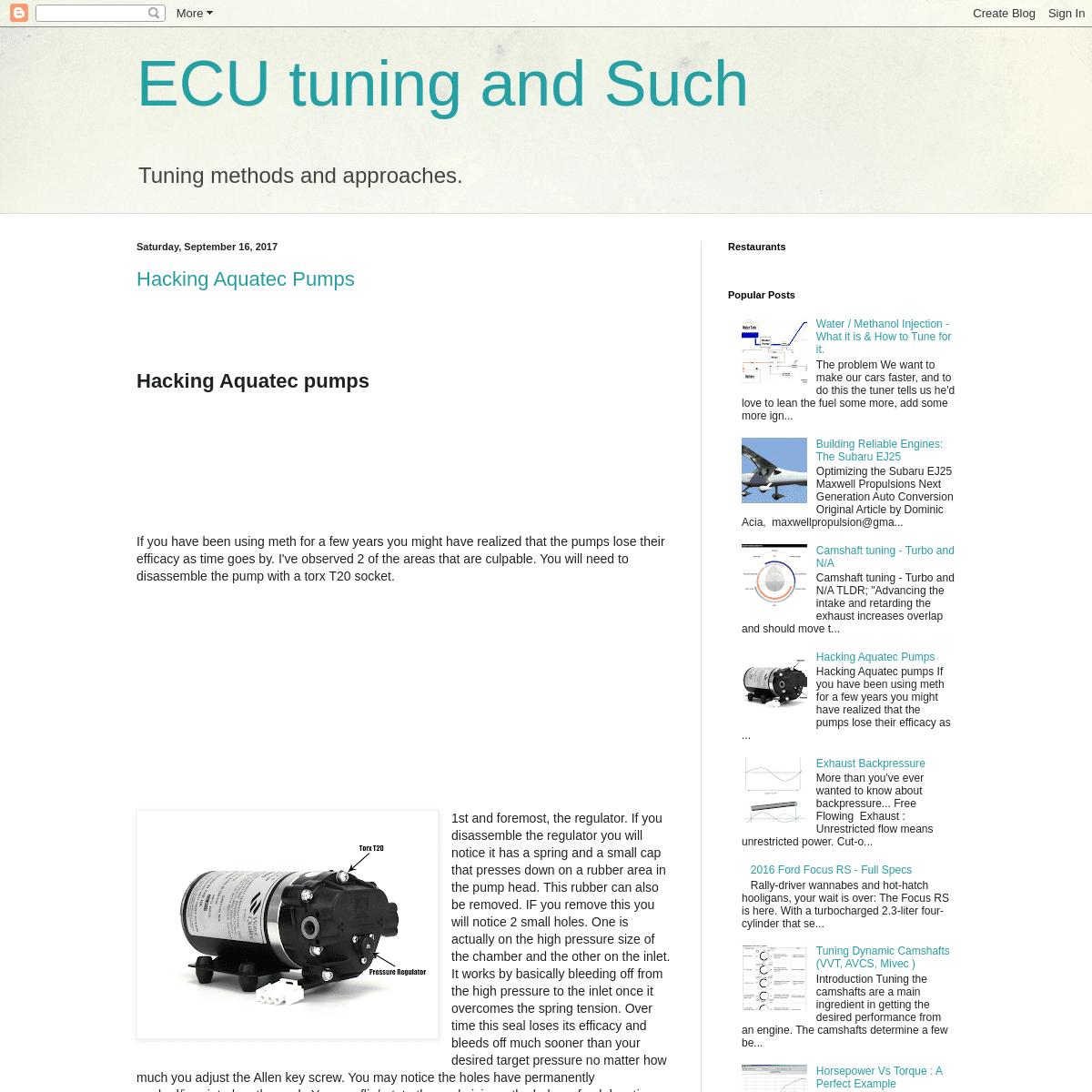 ArchiveBay.com - tunernerd.blogspot.com - ECU tuning and Such