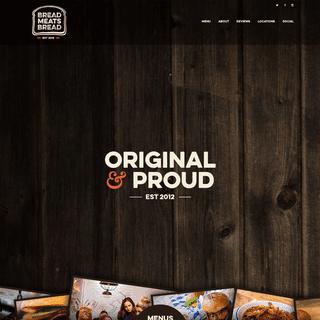 Bread Meats Bread - Eat Local. Eat Fresh. Glasgow. Award Winning Burgers Sandwiches Poutine