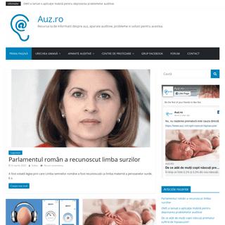 ArchiveBay.com - auz.ro - Auz.ro - Resursa ta de informatii despre auz, aparate auditive, probleme si solutii pentru acestea.
