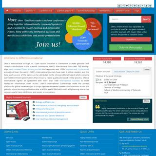 OMICS International - Open Access Journals
