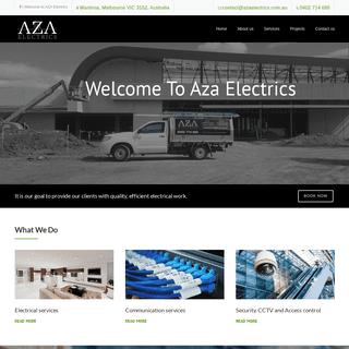 AZA Electrics - Melbourne