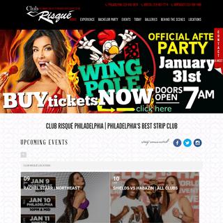 Philadelphia's Best Gentlemen's Club with the Hottest Strippers - Club Risque - https---www.clubrisque.com-