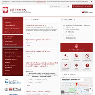 Sąd Rejonowy w Tomaszowie Lubelskim