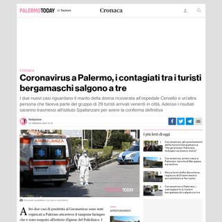 ArchiveBay.com - www.palermotoday.it/cronaca/coronavirus-palermo-turisti-bergamo-positivi.html - Coronavirus a Palermo, positivo anche il marito della turista di Bergamo