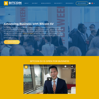 Advancing the Growth of BSV - Bitcoin Association